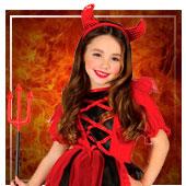 Disfraces de diablesas para niña