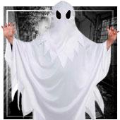 Disfraces de fantasmas para niña