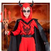 Disfraces de demonios para niño