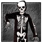 Disfraces de esqueletos para niño