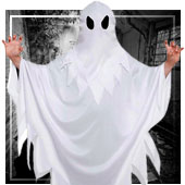 Disfraces de fantasmas para niño