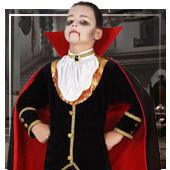 Disfraces de vampiros para niño