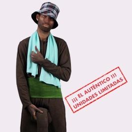 Disfraz del negro de Whatsapp