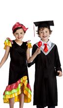 Disfraces y accesorios para fiestas fin de curso