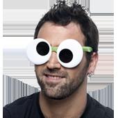 Gafas para carreras de colores