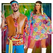 Hippie-Kostüme