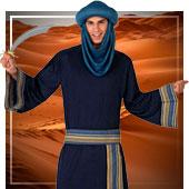 Disfraces de árabe e Hindús para hombre