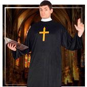 Mönche und Nonnen Kostüme für Mann