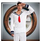 Seemann-Kostüm für Männer
