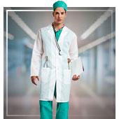 Ärzte und Krankenschwestern Kostüme für Mann
