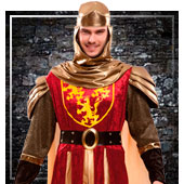 Disfraces medievales para hombre