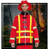 Uniformen und Berufe Kostüme für Mann