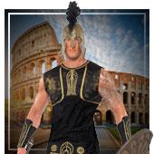 Römer, Ägypter und Griechen Kostüme für Mann