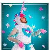 Disfraces de unicornio para hombre