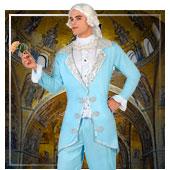 Disfraces de época y venecianos para hombre