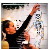 Suspendus pour Halloween
