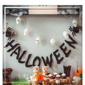 Guirlandes et Panneaux pour Halloween