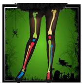 Accessoires pour jambes Halloween
