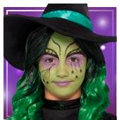 Maquillaje de brujas y hechiceros