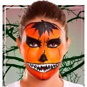 Maquillaje de calabazas halloween