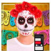 Maquillage Dia de los Muertos