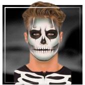 Maquillage de Squelettes et Faucheuses