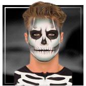 Maquillaje de esqueletos y Muerte