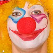 Maquillaje de payasos, circo, arlequines y bufones