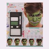 Maquillaje de superheroes y comic