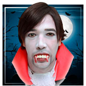 Maquilhagem de Vampiro