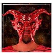 Mascaras de demonios y diablesas