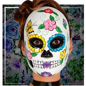 Masques Dia de los Muertos