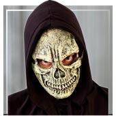 Mascaras de esqueletos y Muerte