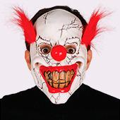Mascaras de circo siniestro