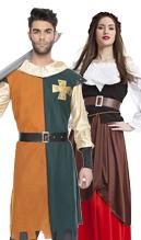 Disfraces y accesorios para ferias medievales