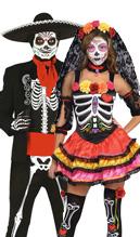 disfraz del día de los muertos para adultos