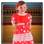 Costumi di Fiera D' aprile Seviglia per Bebé