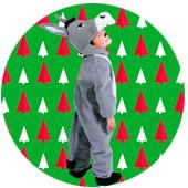 Disfraces de Burro para Navidad