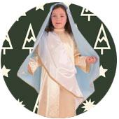 Disfraces de Virgen María para Navidad