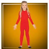 Zweite Haut Kostüme für Mädchen