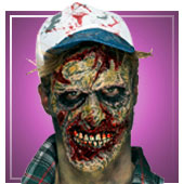 Masques de zombies