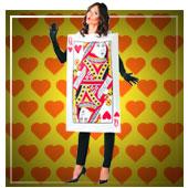 Gesellschafts- und Glücksspiele Kostüme für Frau
