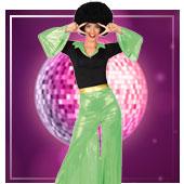Disfraces disco para mujer