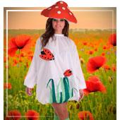 Disfraces de Frutas, Flores y Verduras para mujer