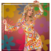 Disfraces de hippies para mujer