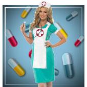 Ärzte und Krankenschwestern Kostüme für Frau