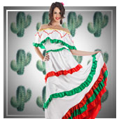 Aus aller Welt, Länder und Regionen Kostüme für Frau