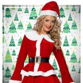 Weihnachtsfrau Kostüme für Frau