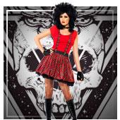 Déguisements Rock et Punk pour femmes