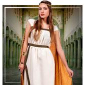Disfraces para mujer de romanos, egipcios y griegos